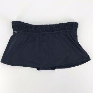 Lole Carmen Swim Skirt Bikini Bottom Black Sz S